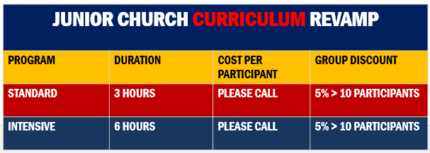 Church Curriculum Program